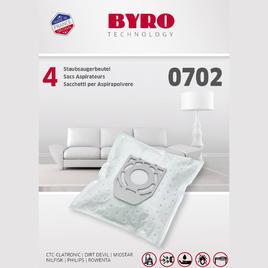 Byro Staubsaugerbeutel 0702, 4 Stk.